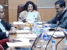 Meeting of Compendium Committee on 04-02-2019 for selection of papers for Compendium of selected papers booklet