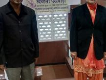 Smt. Usha Sharma, Additional Secretary, DARPG took a round of inspection for cleanliness