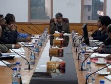 Meeting by JS, DAR&PG to review implementation of modernisation of offices by the Departments on 23-01-2019