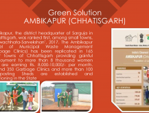 Green Solutions to waste management- Department of Urban Administration and Development, Chhattisgarh