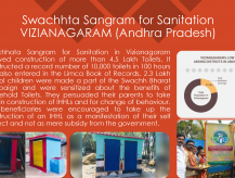 Swachhta Sangram for Sanitation in Vizianagaram- Andhra Pradesh