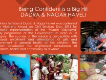 'Being Confident' is a big hit, Dadra & Nagar Haveli