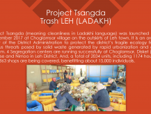 Project Tsangda- Trash Leh (Ladhakh)