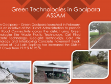 Green Technologies in Goalpara-Goalpara, Assam