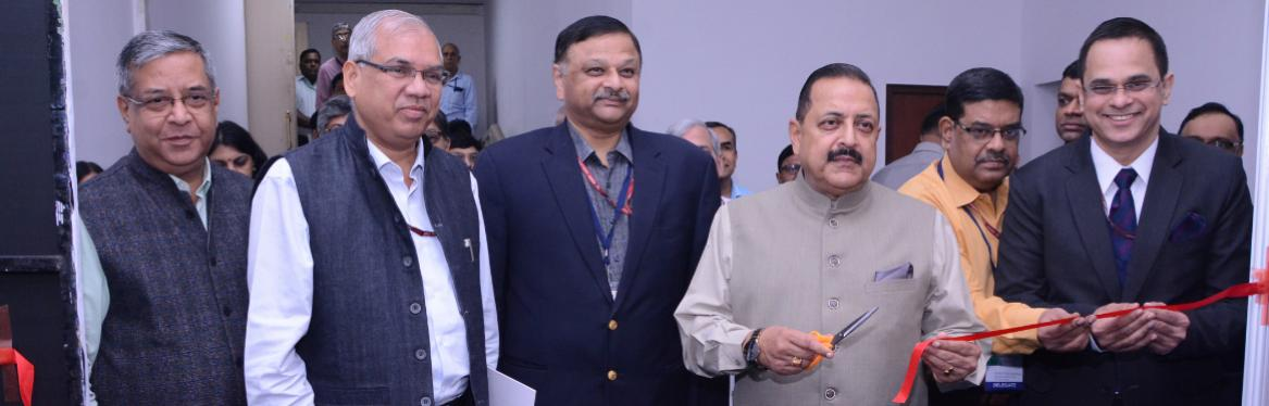 National Workshop on CPGRAMS Reforms Stall Inauguration