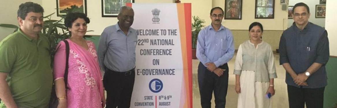 22nd National Conference on e-Governance 2019