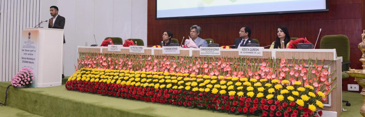 National Workshop on CPGRAMS Reforms Technical Session by States