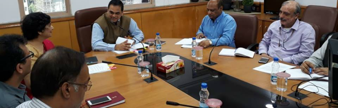 Meeting for Implementation of Guidelines for Indian Government Websites (GIGW) in Statutory Bodies of Government of India