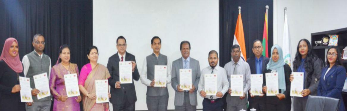 Indian delegation led by Shri V.Srinivas, Add. secretary DARPG visited Maldives